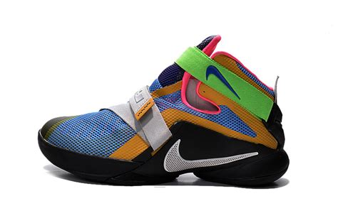 lebron 9 shoes nike lebron soldier 9 what the lebron multi color black