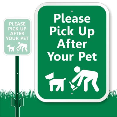 up your signs up after your pet sign lawnboss sign stake kit sku k 9108