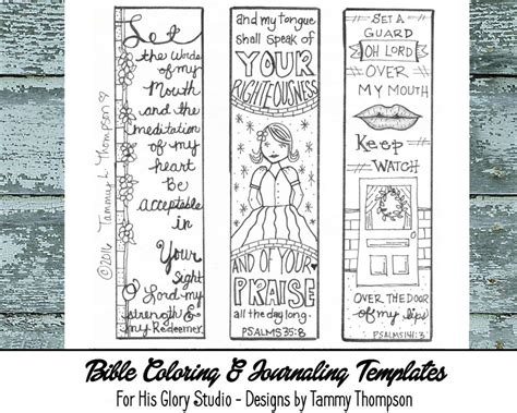 coloring pages for bible journaling bible journaling guard my mouth 7 doodles coloring