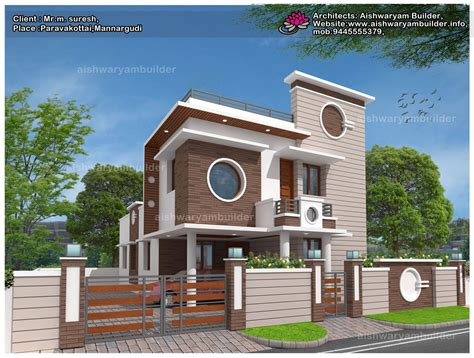 contractors in chennai contemporary house designs
