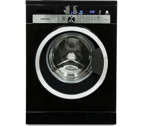 black machine buy grundig gwn47430cb washing machine black free delivery currys