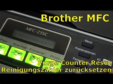 reset muc brother j430w clear error 46 unable to clean on brother printers