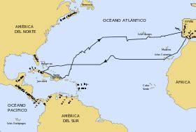 rutas de los barcos de cristobal colon venezuela a trav 233 s de la historia viajes de crist 243 bal col 243 n