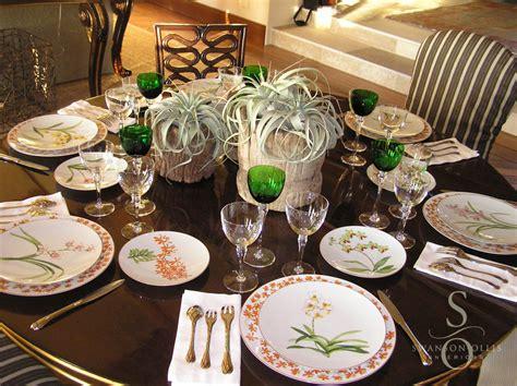 dinner table setting maison de la mer