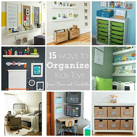 how to organize kids toys how to declutter kids rooms clean and scentsible