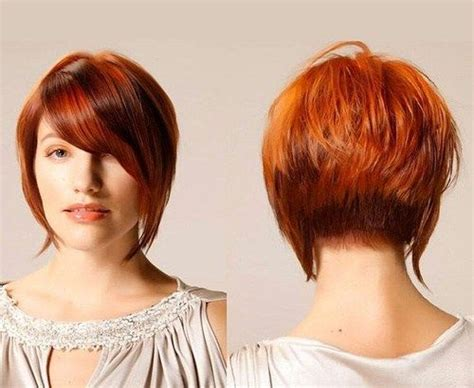 stack with a swoop bang hairstyles the full stack 30 hottest stacked haircuts bobs red