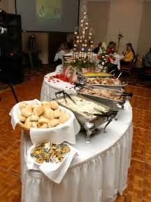 Food Buffet Table How To Set The Wedding Buffet Weddingelation