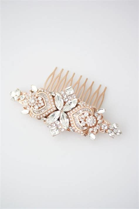 Wedding Hair Accessories Roses by Wedding Hair Accessories Gold Hair Comb