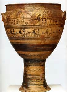 development of geometric vase painting