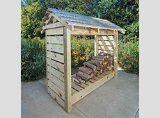 Constructing a Firewood Shelter - Farm and Garden - GRIT ... Firewood Storage