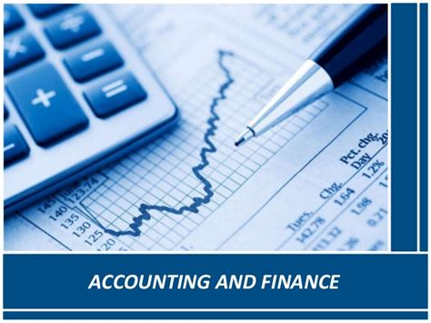 Finance A by Importance Of Finance Accounting