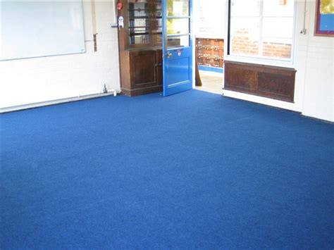 carpet fitted in school