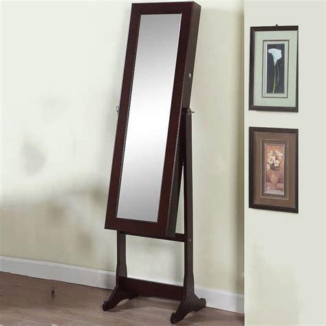 artiva deluxe floor standing mirror and jewelry cabinet