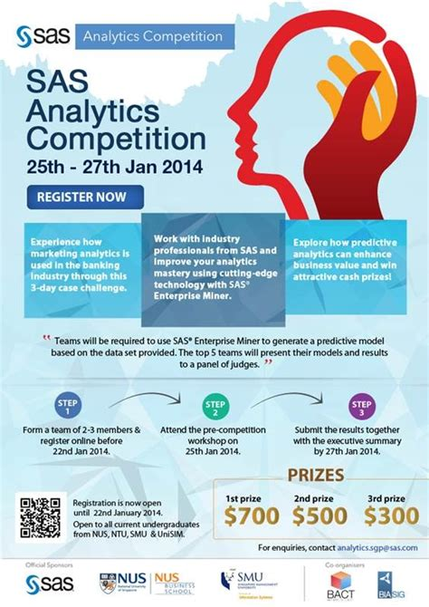 Http Bizblogs Nus Edu The Nus Mba 2014 02 19 Tips For Mba Interviews On Skype by Sas Analytics Competition Fass News