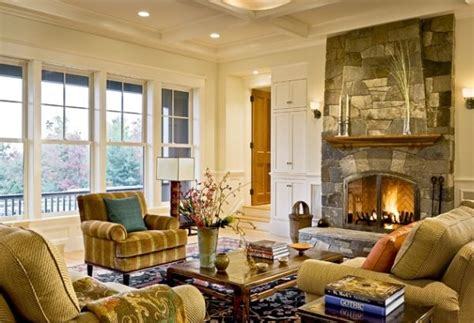 fireplace in the living room 40 stone fireplace designs from classic to contemporary spaces