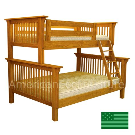 American Made Bunk Beds Custom Bunk Beds Made In America Usa Made Children S Furniture American Eco Furniture