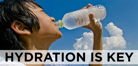 hydration is key proper hydration is key for at play physicians