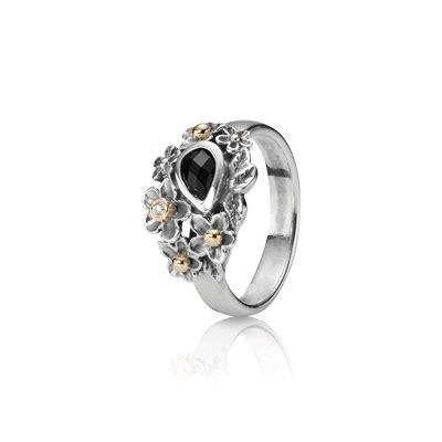 Pandora Clear Cz And Black Onyx Dew Drops Charm Silver P 489 ring dew drops on flowers 14k onyx pandora let it shine rings