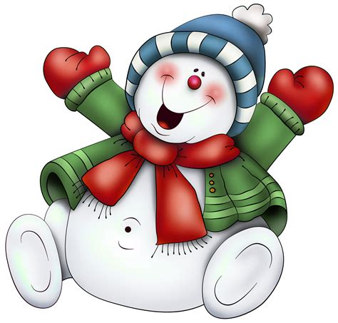 clipart neve snowman with scarf png clipart use on transparencies