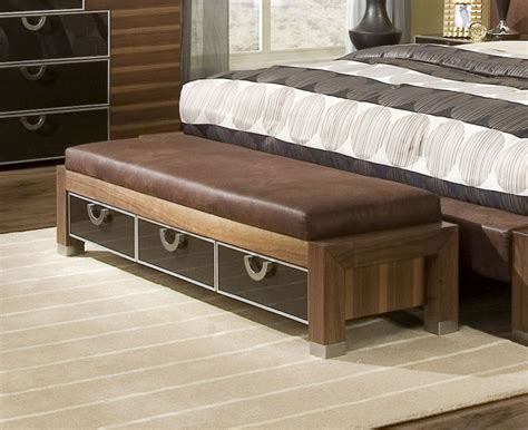 bed with bench bedroom 18 storage bench bedroom accent furniture ideas