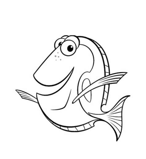 Coloring Pages Nemo Free Printable Nemo Coloring Pages For Kids by Coloring Pages Nemo