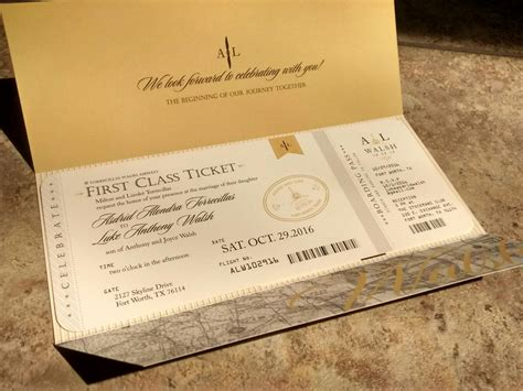 airplane wedding invitations aviation airplane travel themed wedding invitation