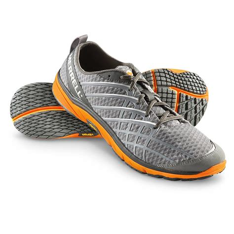 bare shoes s merrell 174 bare access ii athletic shoes charcoal