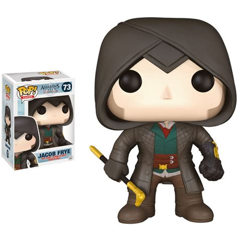 Exclusive Pop Assassin S Creed Ezi Vinyl Figure Collecti Assassin S Creed Syndicate Jacob Frye Pop Vinyl Figure