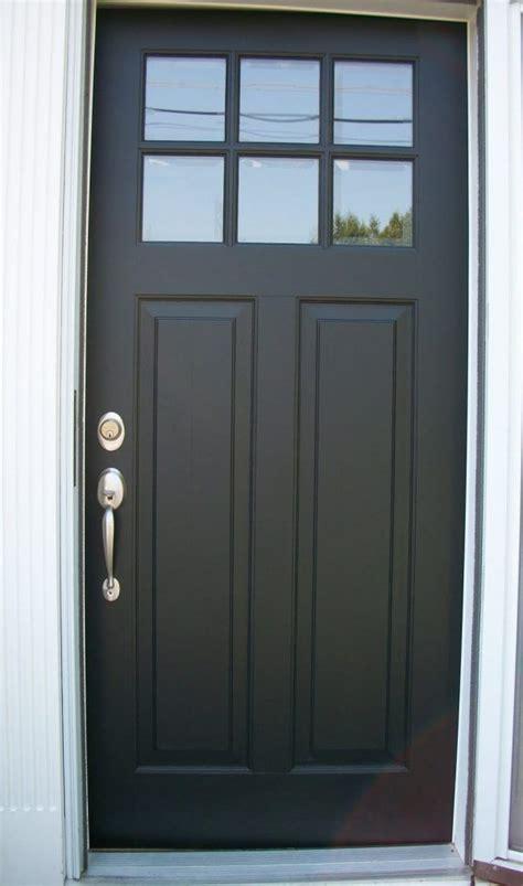 decoration inspiring black wood entry doors  glass