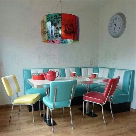 Kitchen Booth Ideas | retro kitchen corner so cute vintage bits pinterest