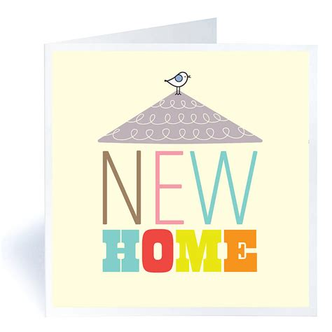 card design ideas pictures boxed new home card message