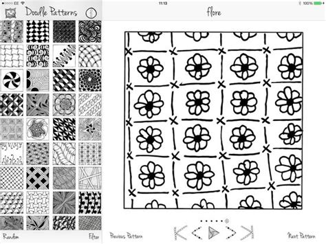 doodle 4 application form doodle patterns on the app store