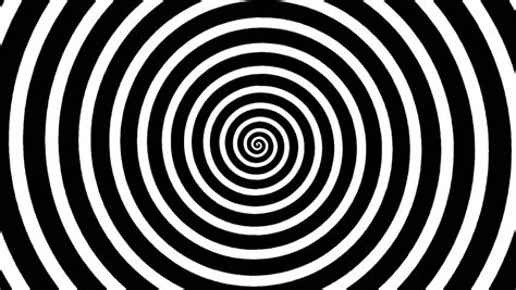 spiral pattern black and white crazy black and white spiral stock footage video 3603278