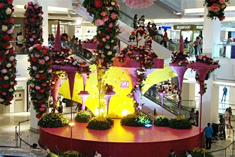 new year decoration shopping mall new year decorations at city square mall johor
