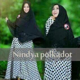 Dress Payung Polkadot ayuatariolshop distributor supplier gamis tangan pertama