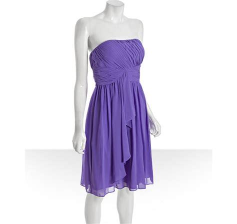 chiffon drape donna morgan hyacinth chiffon pleated drape strapless