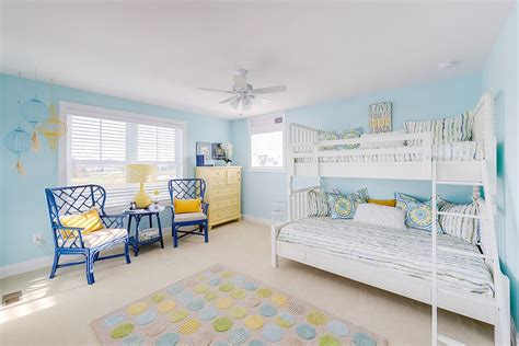 blue bedrooms for kids trendy and timeless 20 kids rooms in yellow and blue