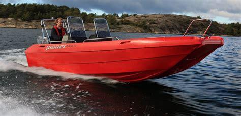 plastic catamaran hull pioner multi pioner easy boating