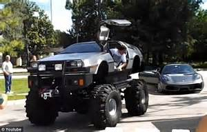 flux capacitor dude where s my car where s the flux capacitor builds delorean truck by melding classic car with rugged