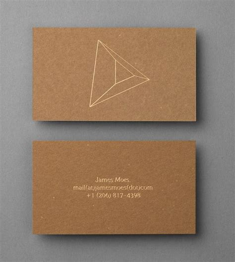bf forniture ufficio uncoated unbleached board business card with gold foil
