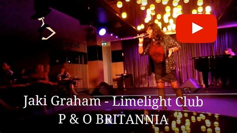 At The Club by Jaki Graham Performing And At The Limelight