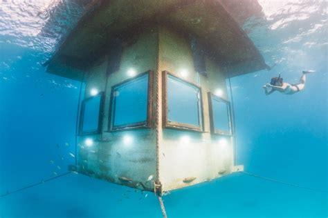 manta resort underwater room world s most hotels lost waldo