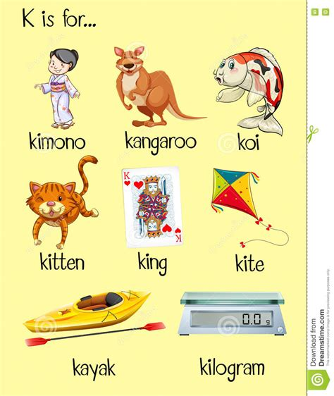 5 Letter Words With K And Z words that start with k www imgkid the image kid