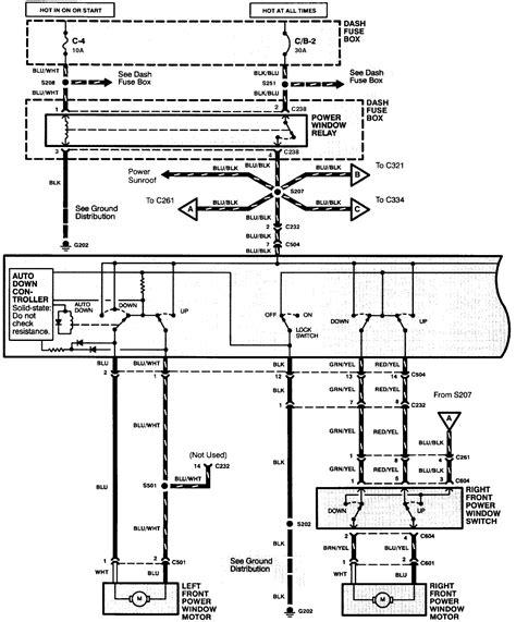 auto power window wiring diagram wiring diagram with