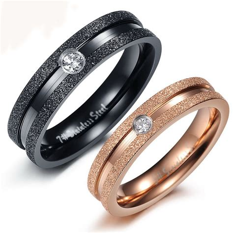 popular couples promise rings from china best selling