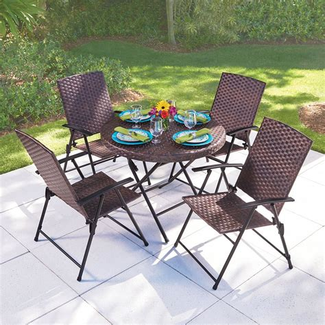 folding patio chairs 100 foldable patio table mainstays