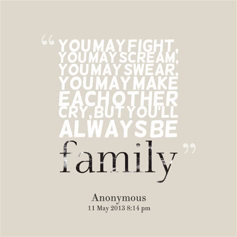 7 Fights You May Had by Family Fighting Quotes Quotesgram