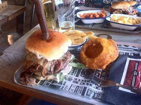 pit burgers pit burger picture of s true barbecue leeds leeds