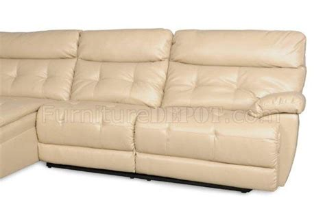 Albany Sectional Sofa 3117 Power Reclining Sectional Sofa In Chagne By Albany
