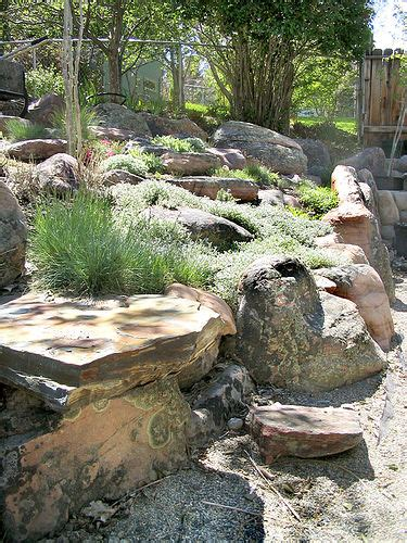 rock gardens on slopes rock gardens on slopes uncluttered rock garden on a